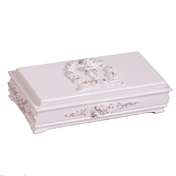 Bella cherub jewelry box