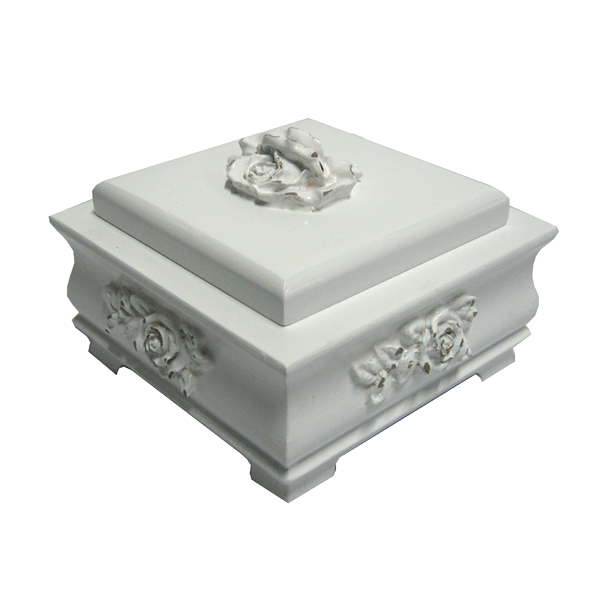 Bella small rose cluster jewelry box