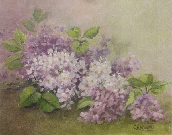 Lilacs Laying