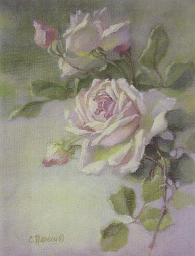 Vintage Rose Study
