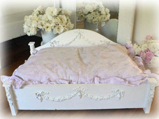 Jewel Pet Bed w/Swags